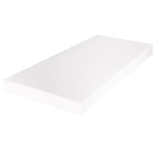 vidaXL Cama com LED ondulada  + colchão, couro artificial 140×200 cm preto