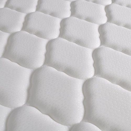 vidaXL Cama c/ colchão espuma memória 160x200cm tecido cinzento escuro