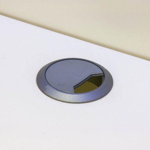 Armário TV de parede + LED alto brilho preto, 169,2 cm