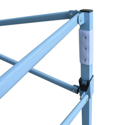 Tenda pop-up dobrável com 4 paredes laterais 3×6 m azul