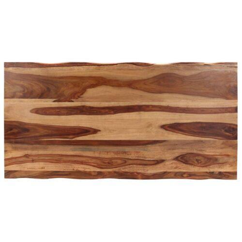 Mesa de jantar 180x90x76 cm madeira de sheesham maciça