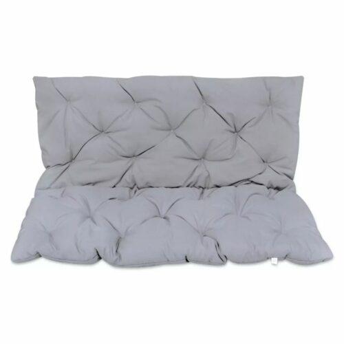 Almofada cinzenta para cadeira de balanço, 120 cm
