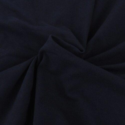 Capa de sofá elástica de jersey de algodão, preto