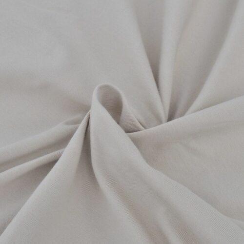 Capa de sofá elástica de jersey de algodão, bege