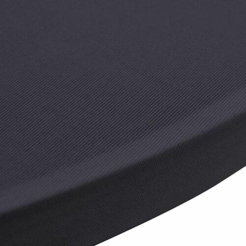 Capa extensível para mesa 2 pcs 70 cm antracite