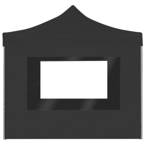 Tenda dobrável profissional c/ paredes alumínio 3x3m antracite