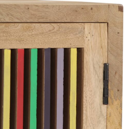 Aparador 100x30x75 cm madeira de mangueira maciça