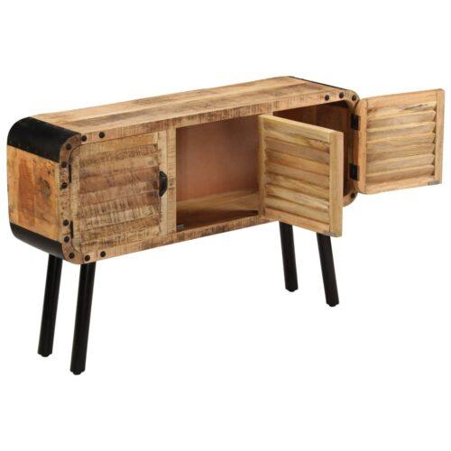 Aparador em madeira de mangueira maciça 120x30x76 cm