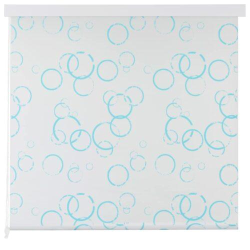 Estore de rolo para o duche 140×240 cm bolhas