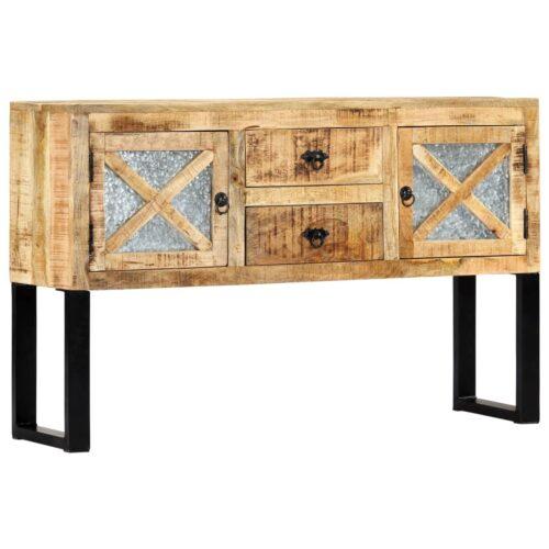 vidaXL Aparador 120x30x74 cm madeira de mangueira maciça