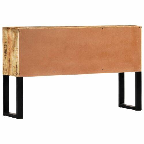 Aparador 120x30x74 cm madeira de mangueira maciça