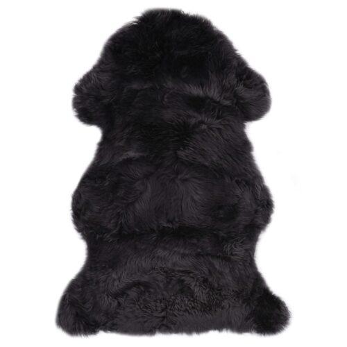 vidaXL Tapete em pele de carneiro 60×90 cm cinzento-escuro